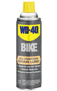 High-performing and long-lasting lubrication for any dry, wet or varying conditions. Prevents friction damage and extends chain life.