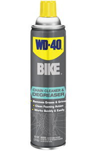 Removes stubborn grease and grime. Fast-acting foam clings to surfaces to work in seconds. Safe for bike finishes and components with no citrus solvents or acids.