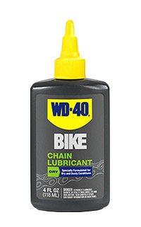WD-40® Bike Dry Chain Lubricant