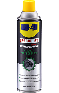 For rapid and safe removal of brake fluid, grease, oil and other contaminants from brake linings, pads and drums.