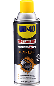 Provides long-lasting lubrication and protection for chains, is O, X and Z ring compatible.