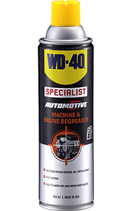 A powerful degreasing solvent. The deep penetrating formulation effectively removes tough grease, oil, dirt, tar, adhesives and more.