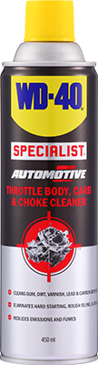 WD-40® SpecialistTM Automotive Throttle Body, Carb & Choke Cleaner